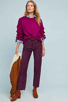 Levi S Wedgie Ultra High Rise Corduroy Straight Jeans Anthropologie