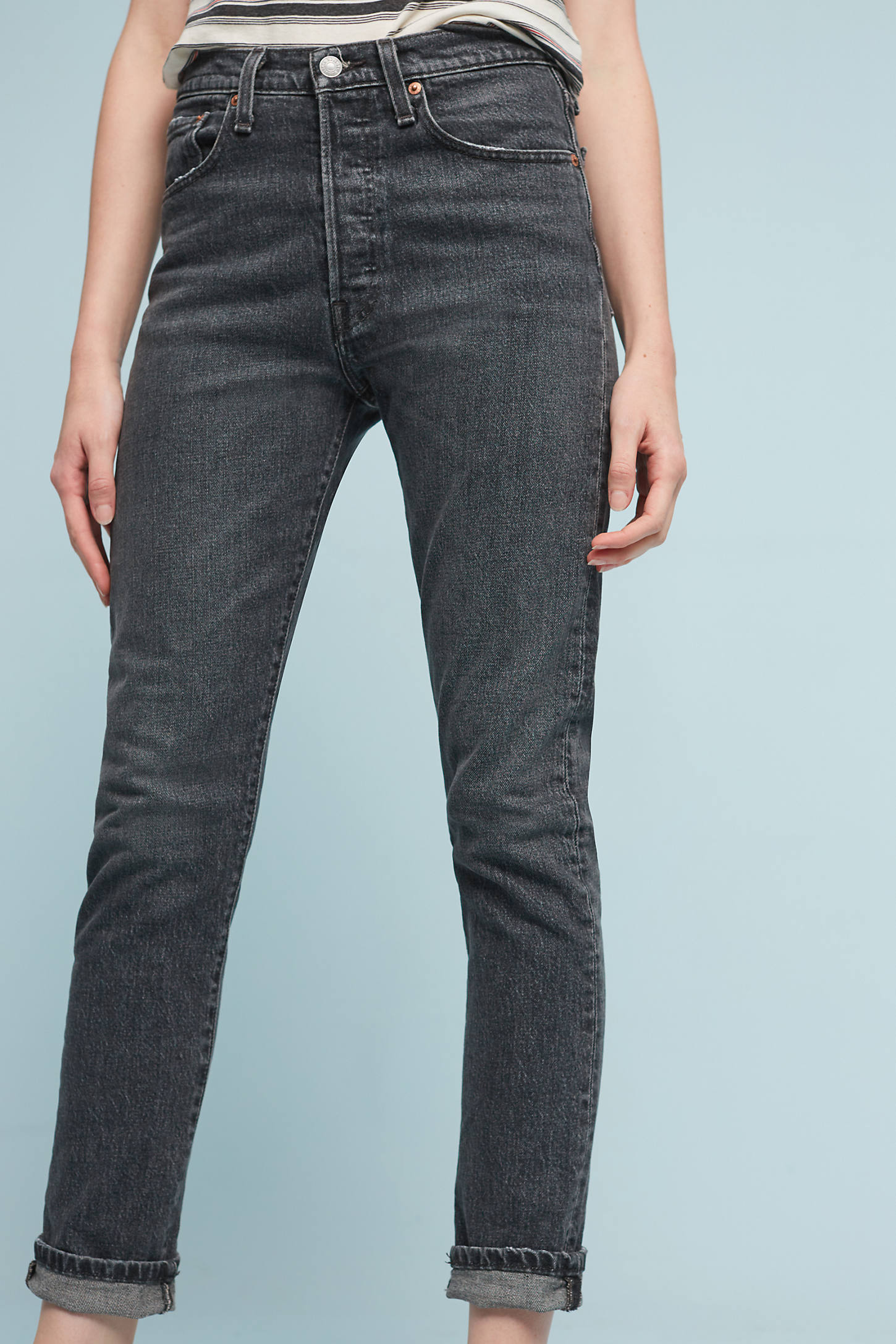 Levi's 501 Ultra High-Rise Skinny Jeans
