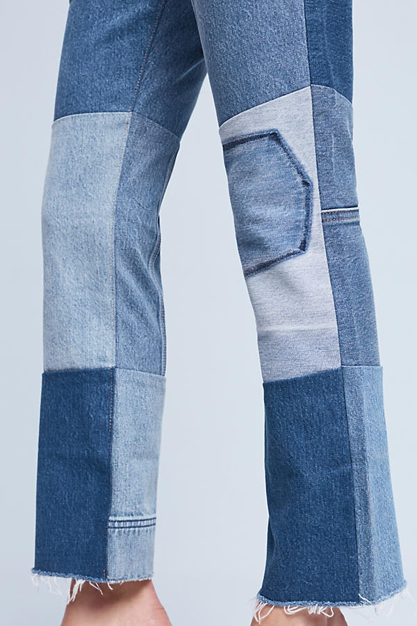 Levi S 517 Ultra High Rise Cropped Bootcut Jeans