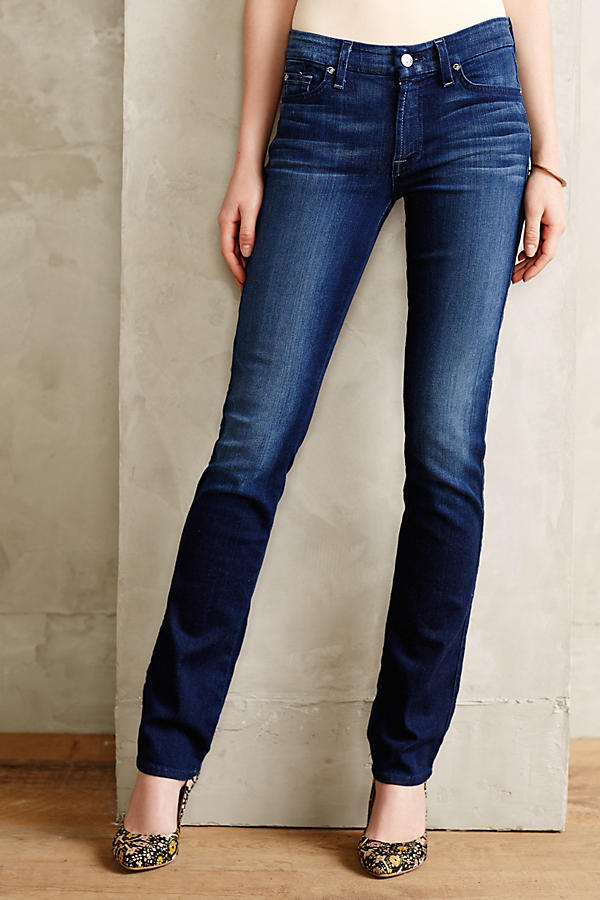 7 For All Mankind Kimmie Straight Leg | Anthropologie