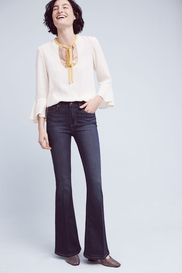 Paige Paige High-Rise Bell Canyon Petite Jeans