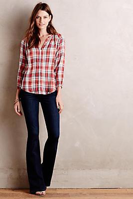 Paige Lou Lou Mid Rise Petite Jeans Anthropologie