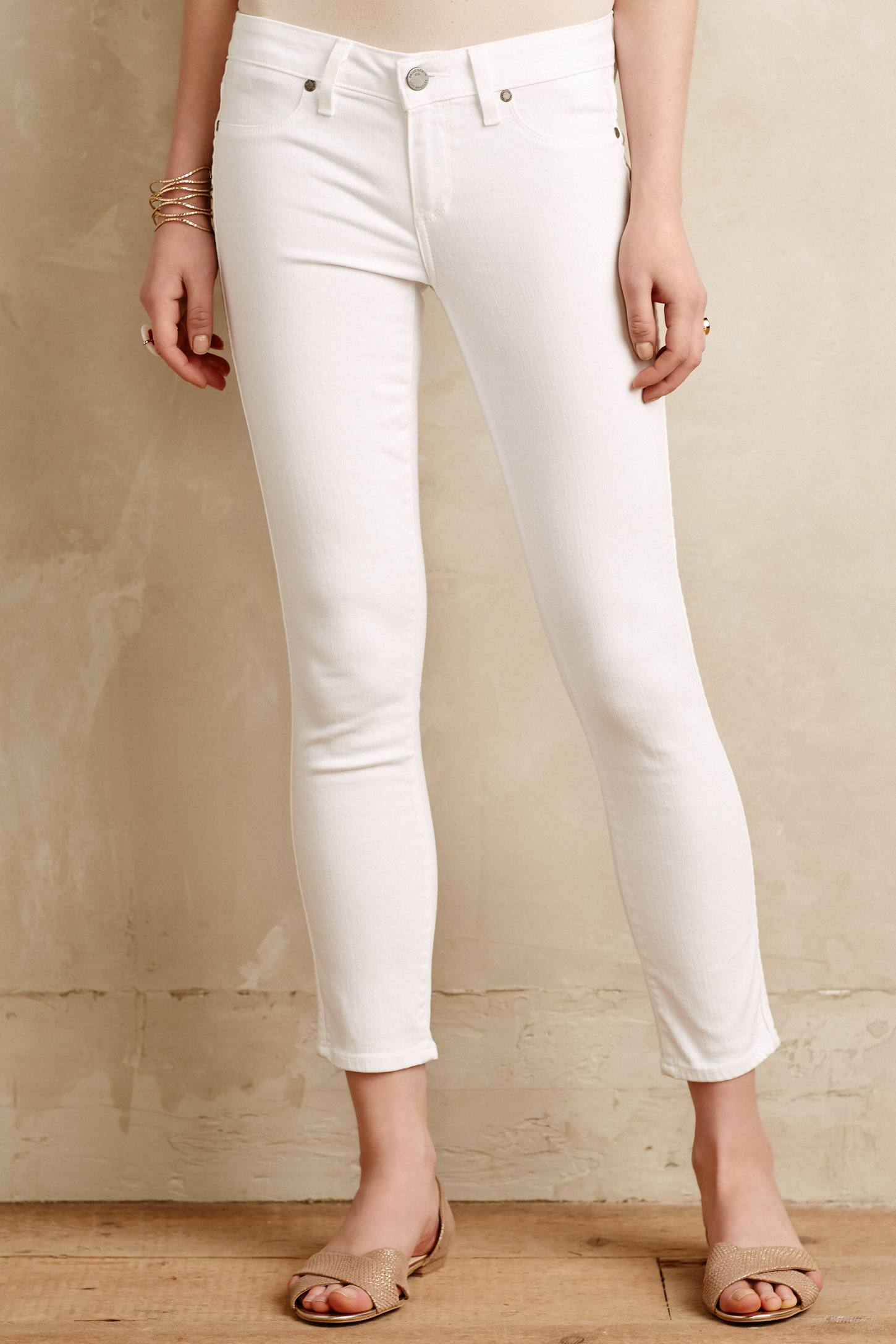 Slide View: 2: Paige Verdugo Cropped Jeans