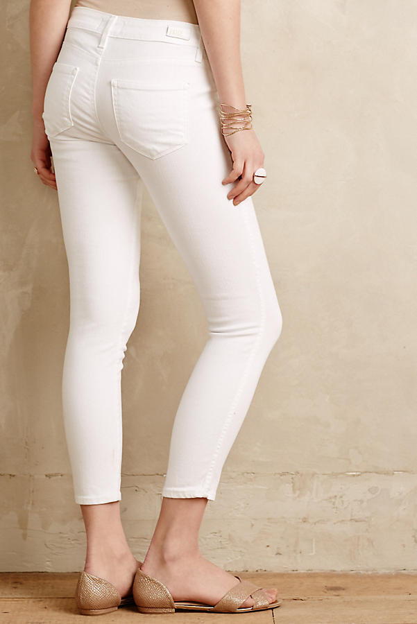 Slide View: 3: Paige Verdugo Cropped Jeans