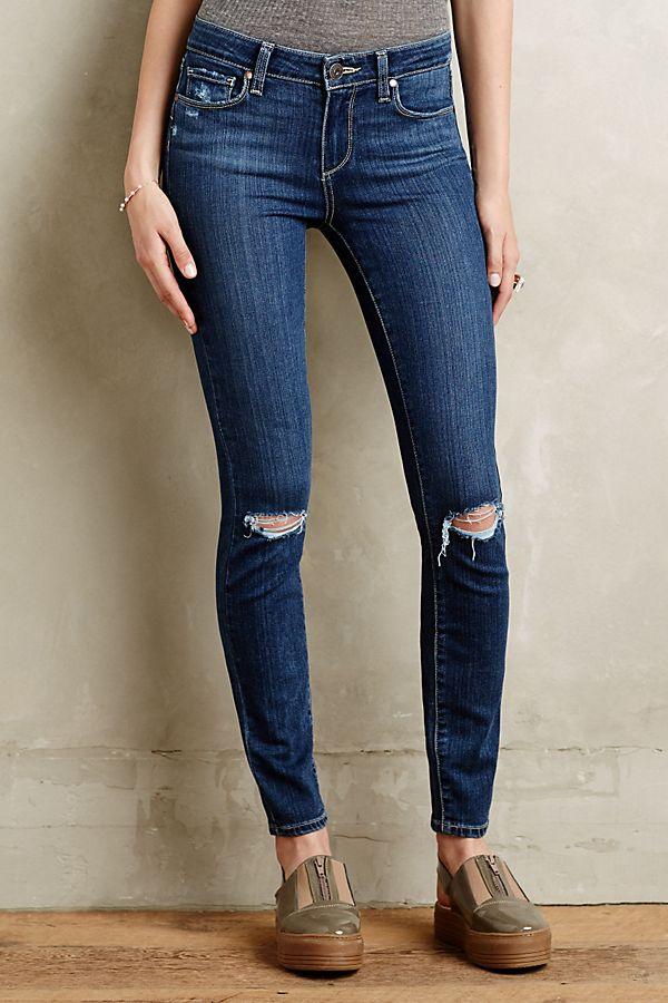 Verdugo Ankle distressed skinny jeans Paige Footlocker Pictures PLvYJXn