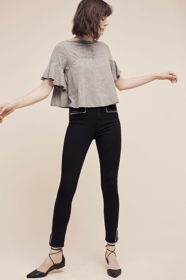 Paige Paige Hunter High-Rise Skinny Ankle Jeans