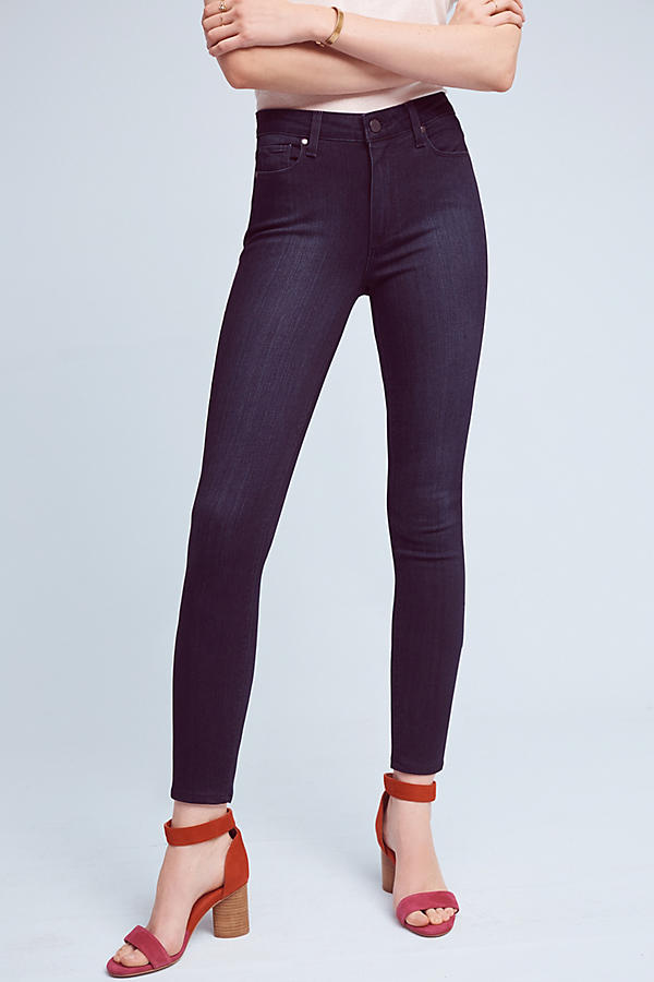 Slide View: 1: Paige Hoxton High-Rise Ultra-Skinny Jeans