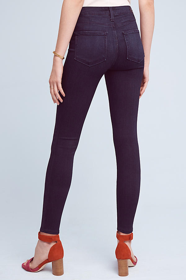 Slide View: 4: Paige Hoxton High-Rise Ultra-Skinny Jeans