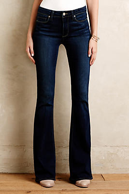 Paige High-Rise Bell Canyon Flare Jeans | Anthropologie