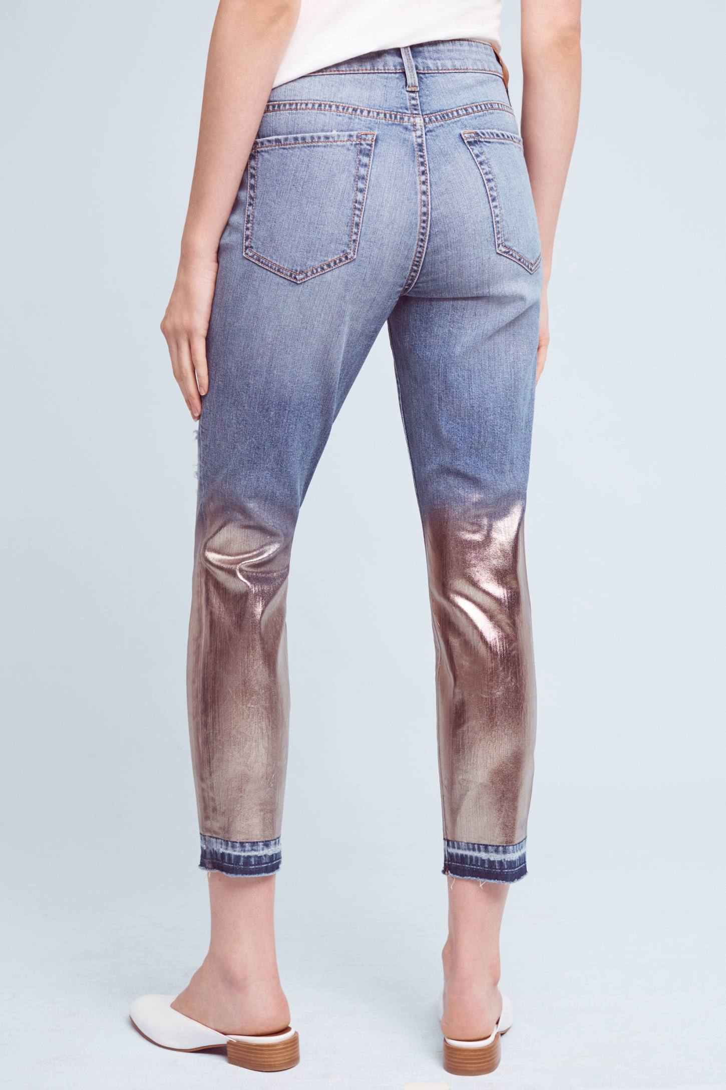 Level 99 Amber Mid-Rise Slouchy Skinny Jeans | Anthropologie