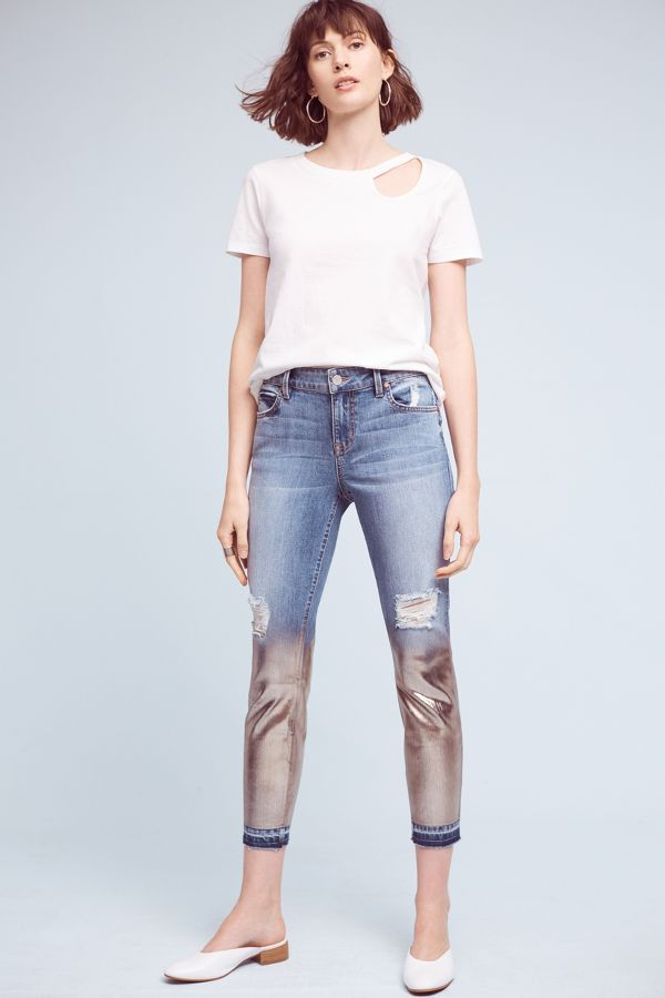 Level 99 Level 99 Amber Mid-Rise Slouchy Skinny Jeans