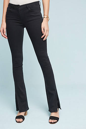 3x1 NYC Split Seam Mid-Rise Boot Jeans