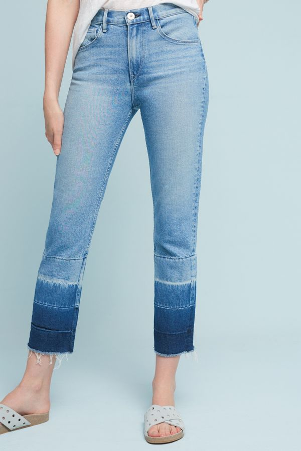 3x1 NYC 3x1 NYC Spectrum High-Rise Straight Cropped Jeans