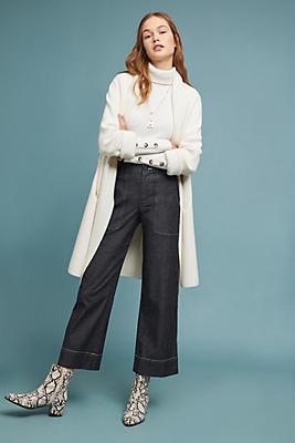 Slide View: 1: Landa Ultra High-Rise Wide-Leg Jeans