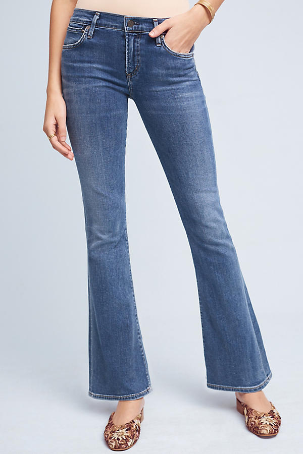 Slide View: 2: Citizens of Humanity Emmanuelle Mid-Rise Bootcut Petite Jeans