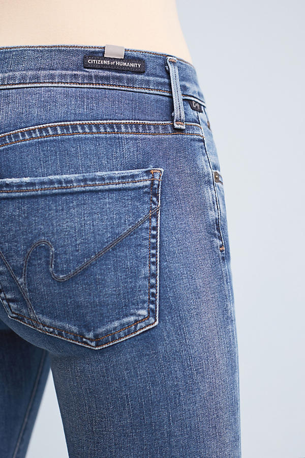 Slide View: 4: Citizens of Humanity Emmanuelle Mid-Rise Bootcut Petite Jeans