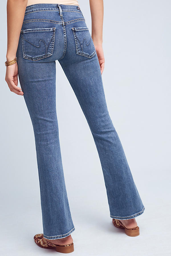 Slide View: 5: Citizens of Humanity Emmanuelle Mid-Rise Bootcut Petite Jeans