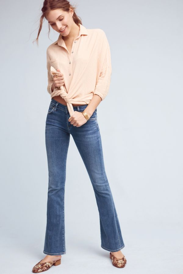 Citizens of Humanity Citizens of Humanity Emmanuelle Mid-Rise Bootcut Petite Jeans