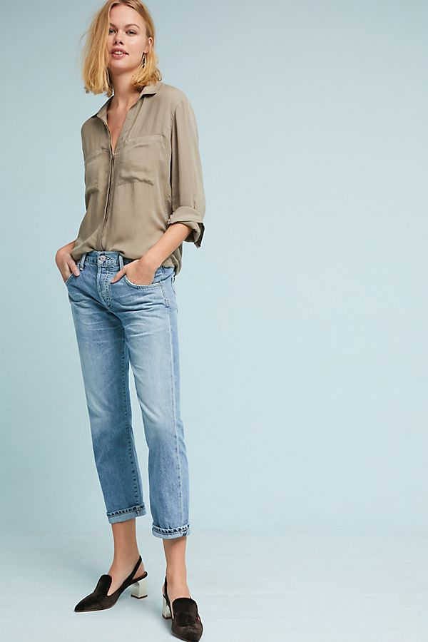 Slide View: 1: Citizens of Humanity Emerson Mid-Rise Slim Boyfriend Jeans