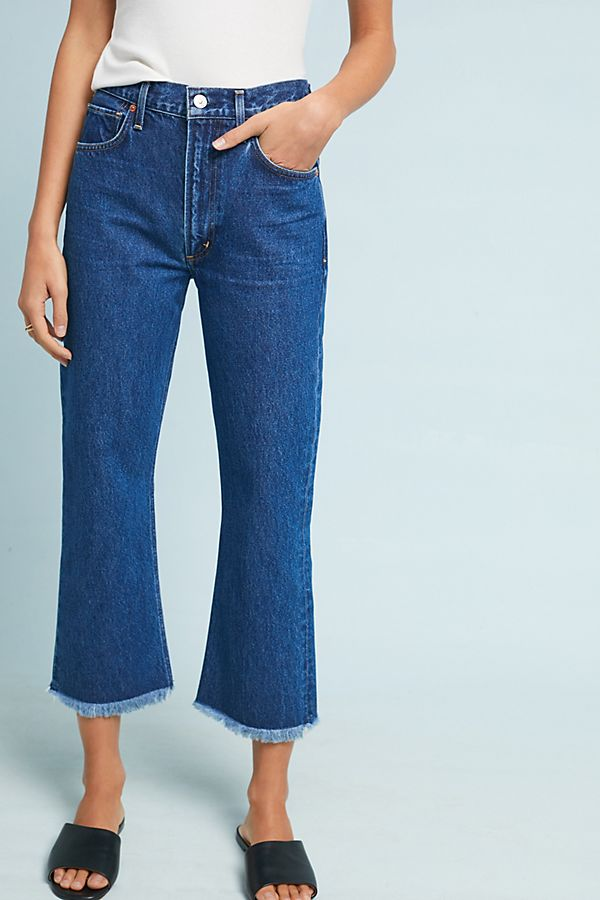Estella high-waisted cropped jeans Citizens Of Humanity oGQ9Inu