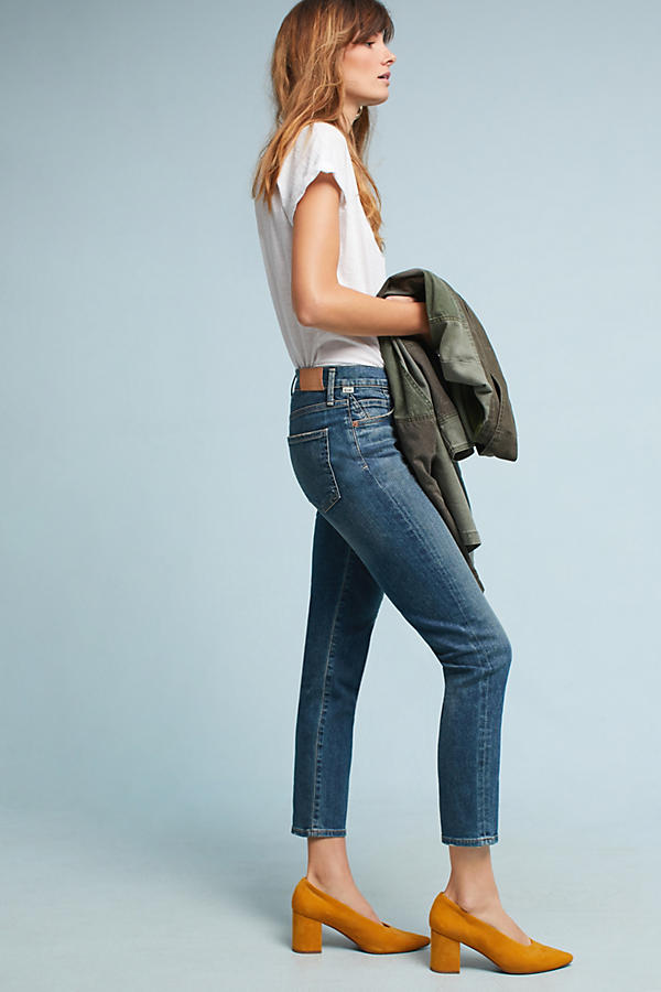 Slide View: 3: Citizens of Humanity Cara High-Rise Cigarette Ankle Jeans