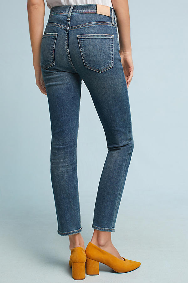 Slide View: 5: Citizens of Humanity Cara High-Rise Cigarette Ankle Jeans