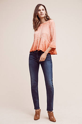 Citzens of Humanity Arielle Low-Rise Straight Jeans