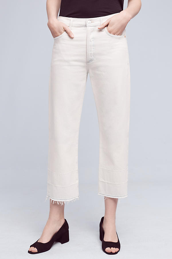 Slide View: 2: Citizens of Humanity Cora Ultra-High-Rise Crop Jeans