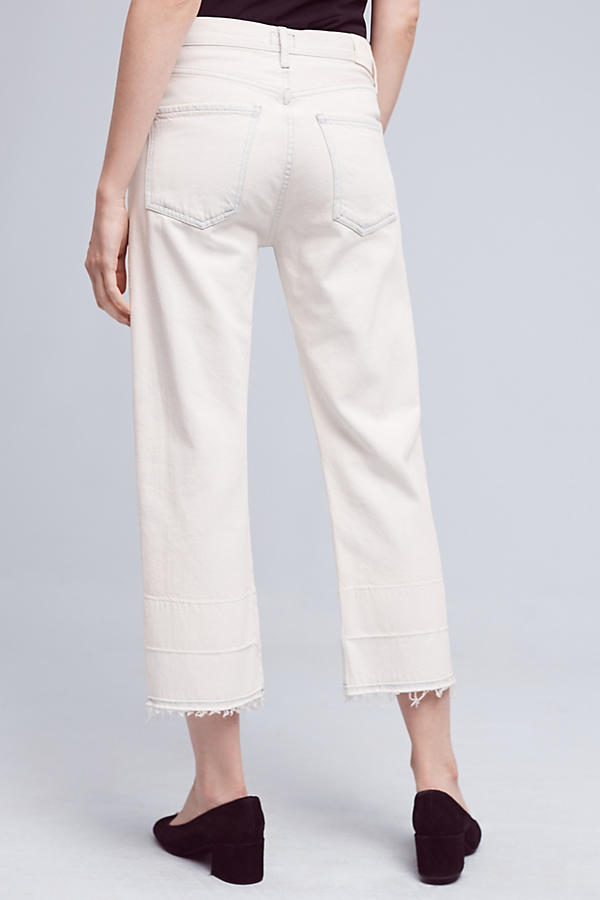 Slide View: 4: Citizens of Humanity Cora Ultra-High-Rise Crop Jeans
