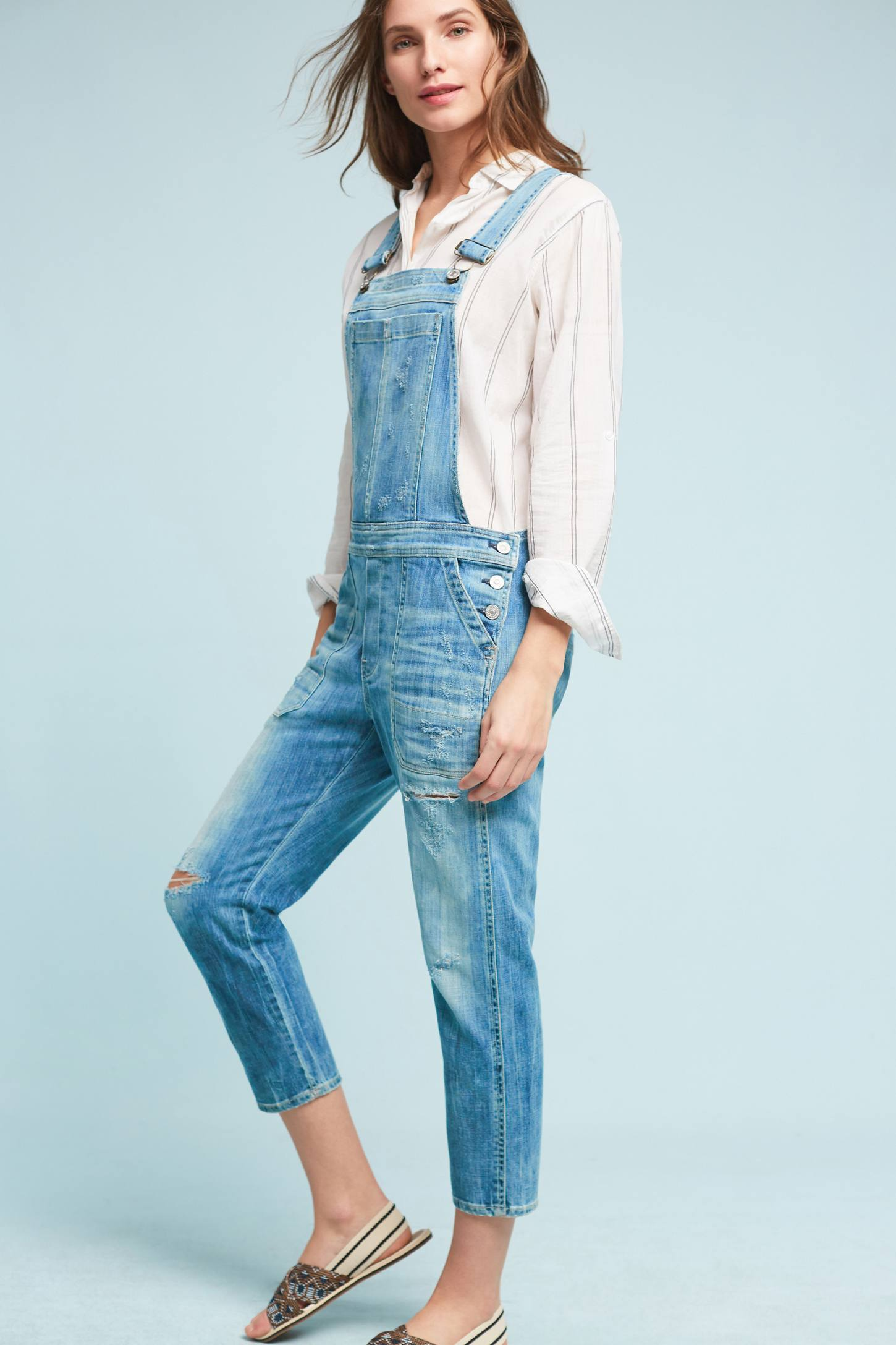 Slide View: 3: Citizens of Humanity Audrey Overalls