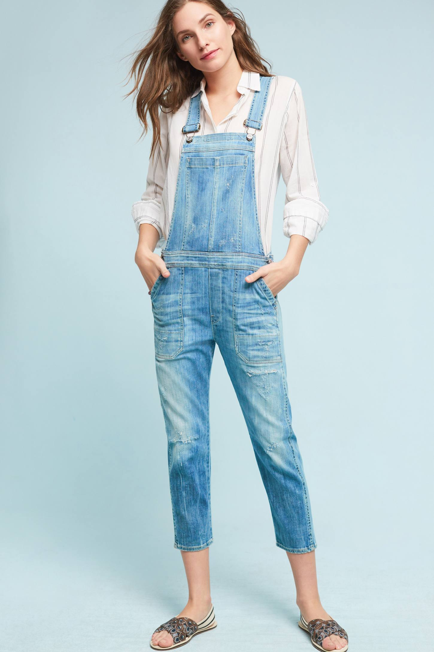 Slide View: 1: Citizens of Humanity Audrey Overalls