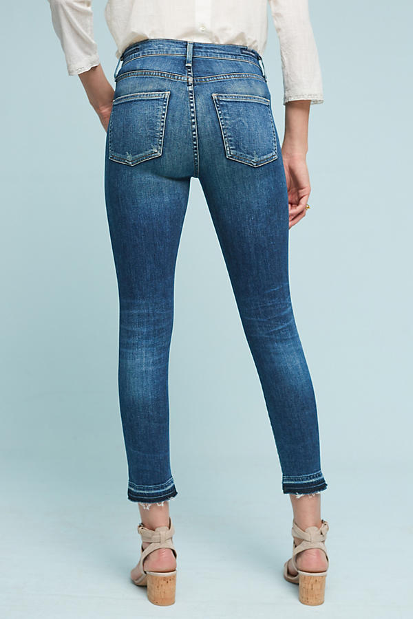 Slide View: 3: Citizens of Humanity Rocket Crop High-Rise Skinny Jeans