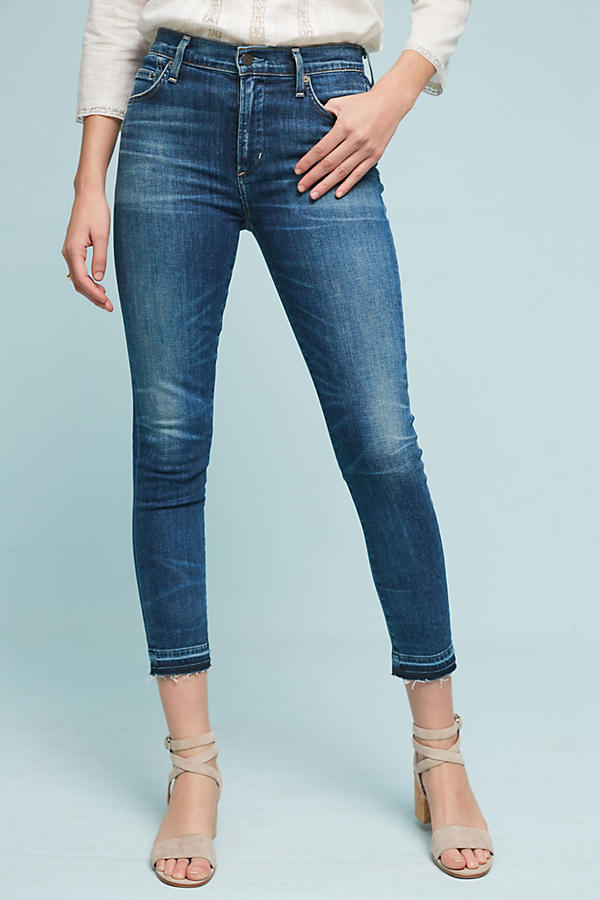 Slide View: 1: Citizens of Humanity Rocket Crop High-Rise Skinny Jeans