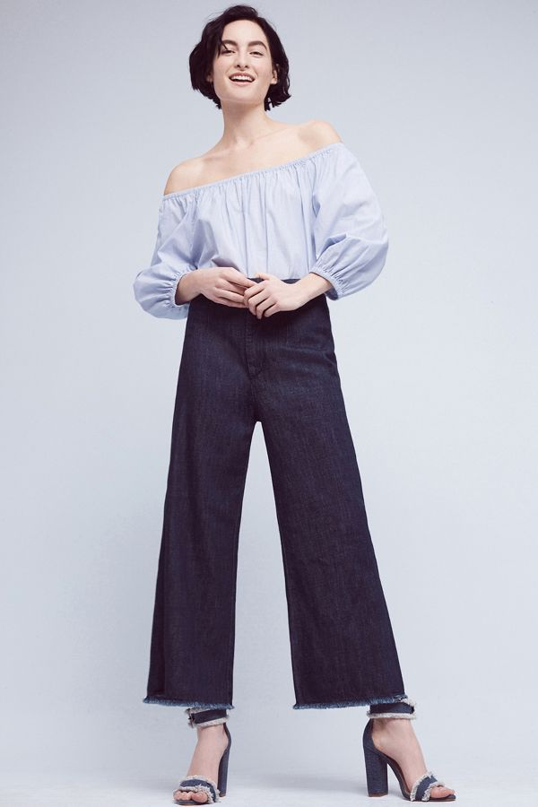 Citizens of Humanity Citizens of Humanity Ultra-High Rise Cropped Palazzo Jeans