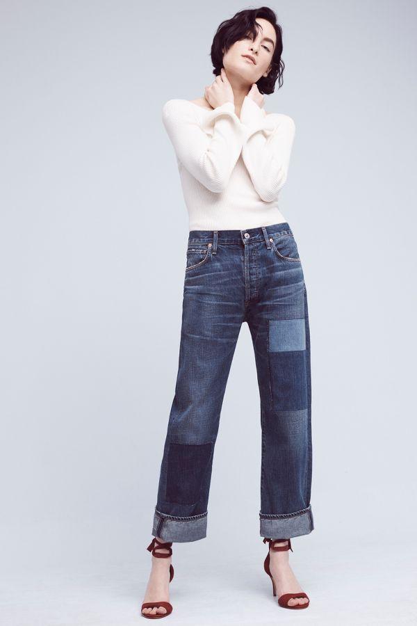 Citizens of Humanity Citizens of Humanity Cora Ultra High-Rise Crop Jeans