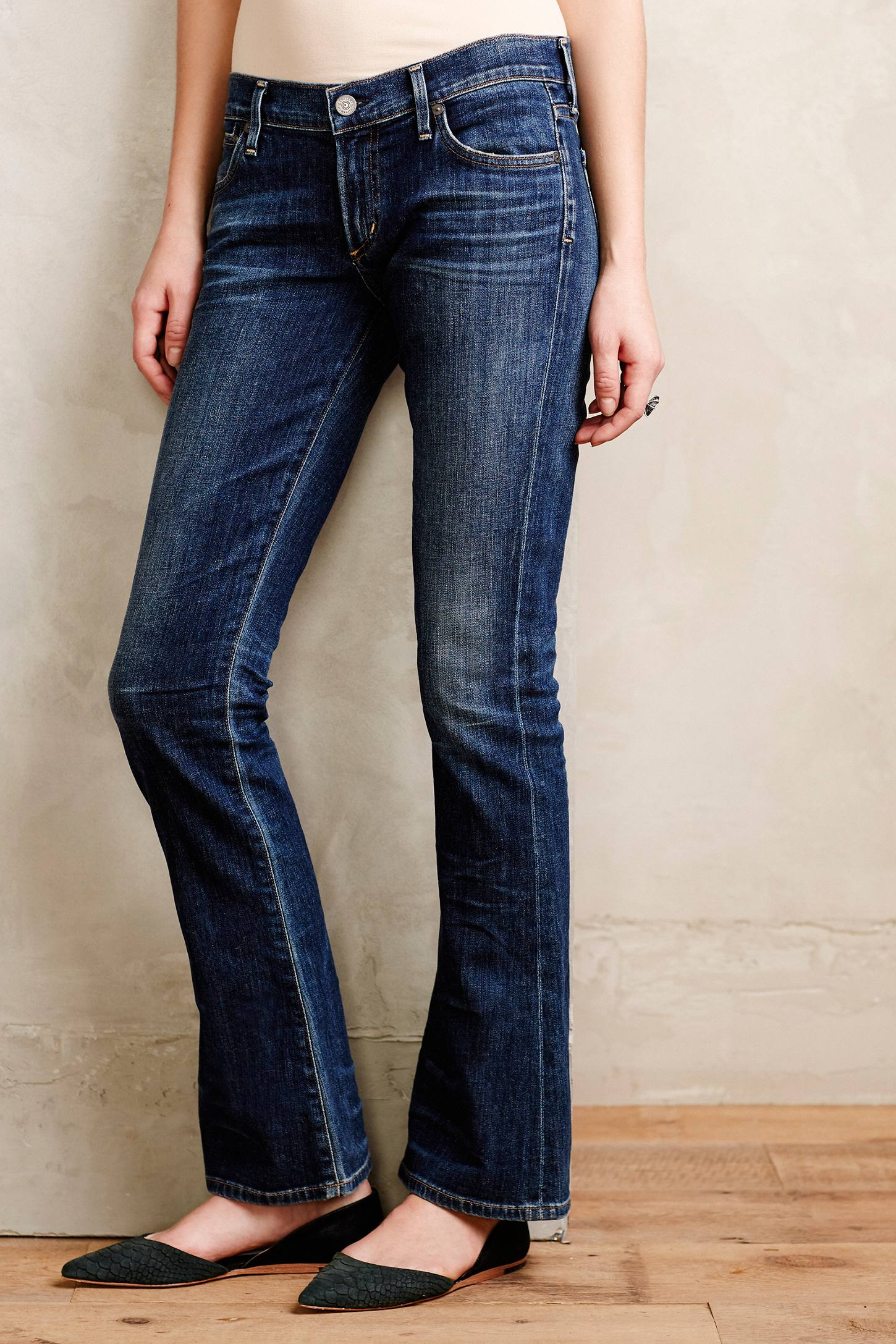 Citizens of Humanity Petite Emmanuelle Slim Boot Jeans
