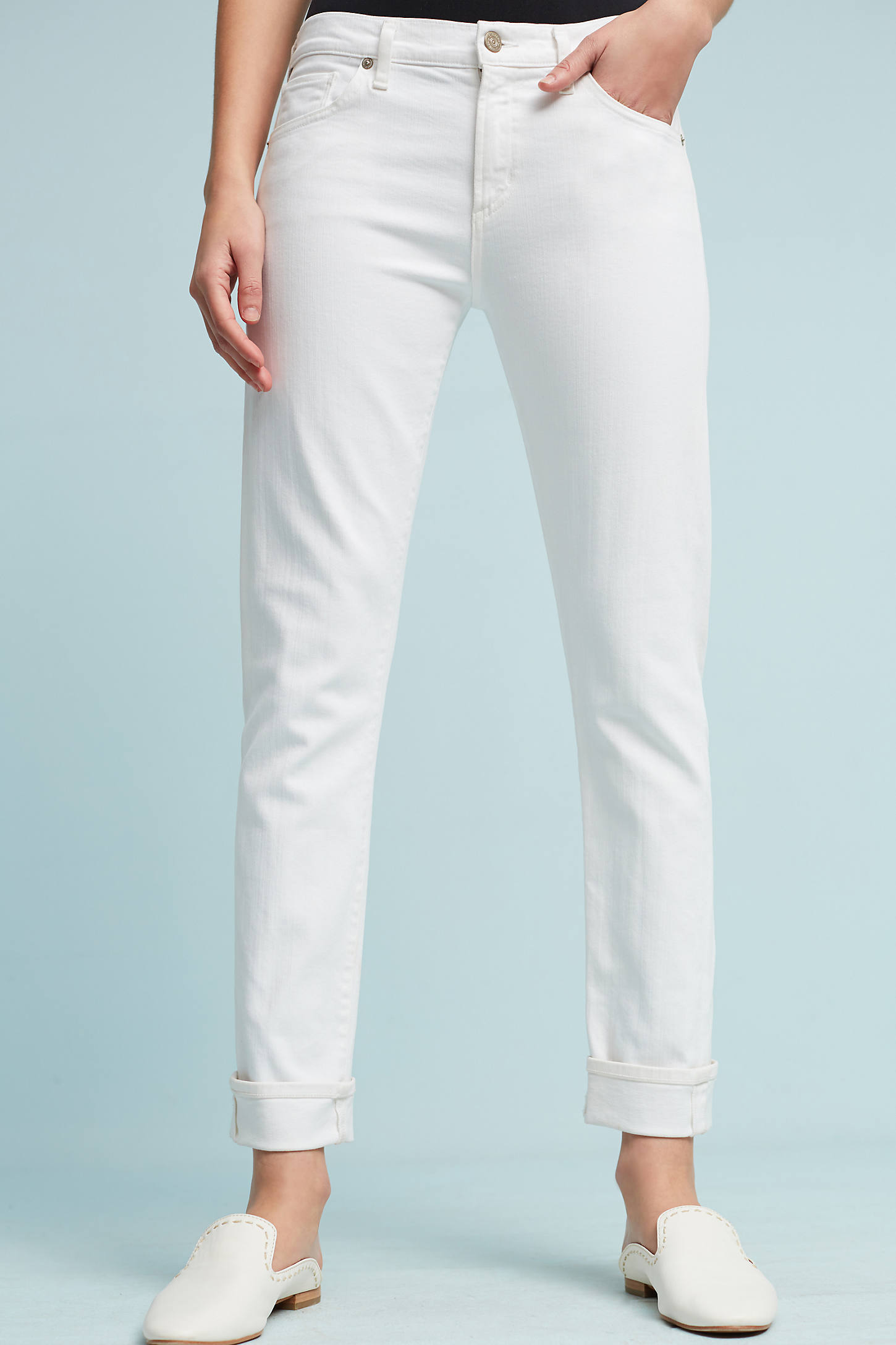 Citizens Of Humanity Jazmin High-Rise Slim Straight Jeans