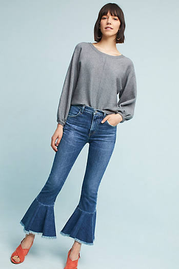 Citizens of Humanity Drew High-Rise Cropped Flare Jeans