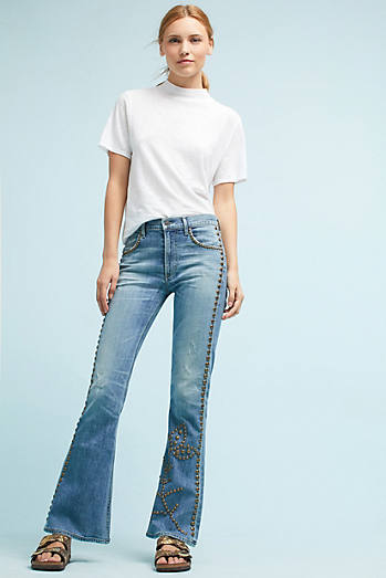 Citizens of Humanity Drew Flip Flop Flare High-Rise Jeans