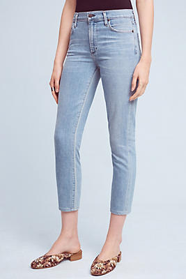 Citizens of Humanity Rocket High-Rise Skinny Cropped Jeans ...