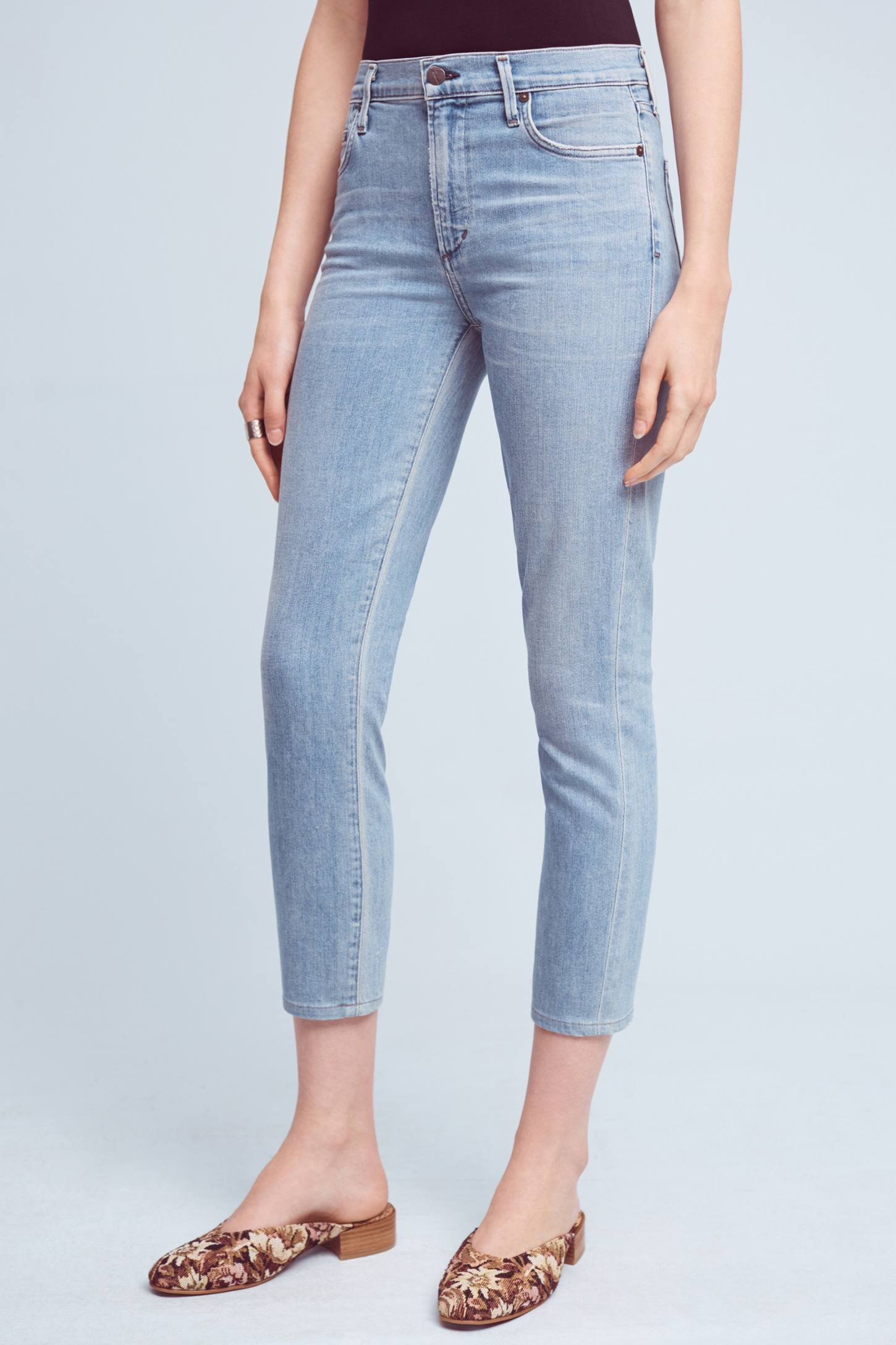 Slide View: 2: Citizens of Humanity Rocket High-Rise Skinny Cropped Jeans