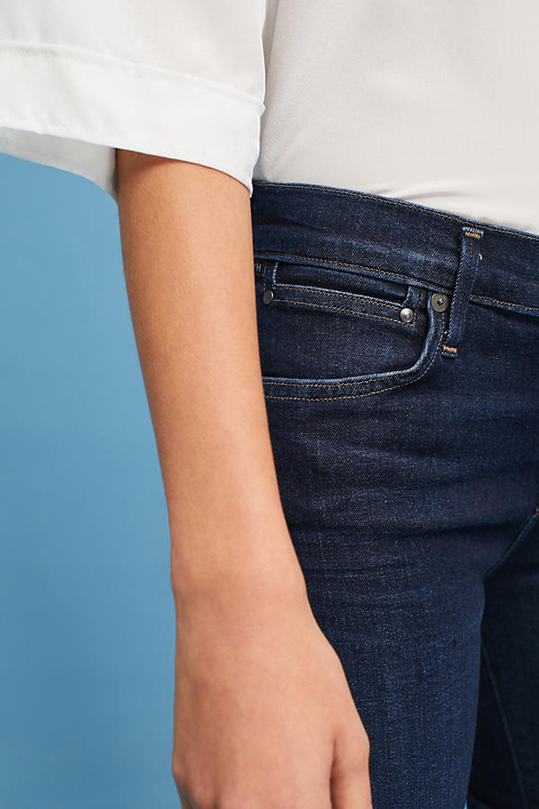 Slide View: 3: Citizens of Humanity Emmanuelle Mid-Rise Slim Bootcut Jeans