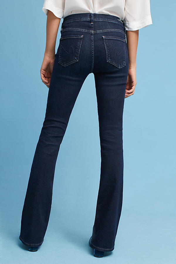 Slide View: 4: Citizens of Humanity Emmanuelle Mid-Rise Slim Bootcut Jeans