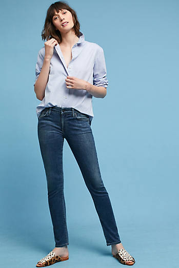 Citizens of Humanity Arielle Mid-Rise Slim Petite Jeans