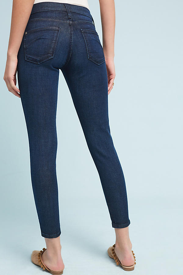 Slide View: 3: James Jeans Twiggy Mid-Rise Skinny Ankle Petite Jeans