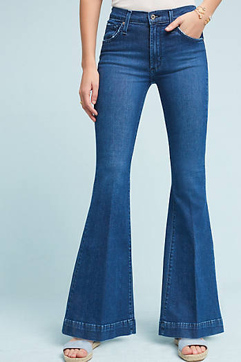 James Jeans Shaybel Mid-Rise Flare Petite Jeans