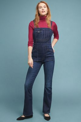 5b98db979de2 MOTHER The Pocket Hustler Denim Overalls  328
