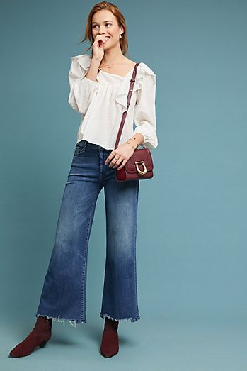 Cropped - Wide-Leg Jeans   Flare Jeans For Women  0f08361549