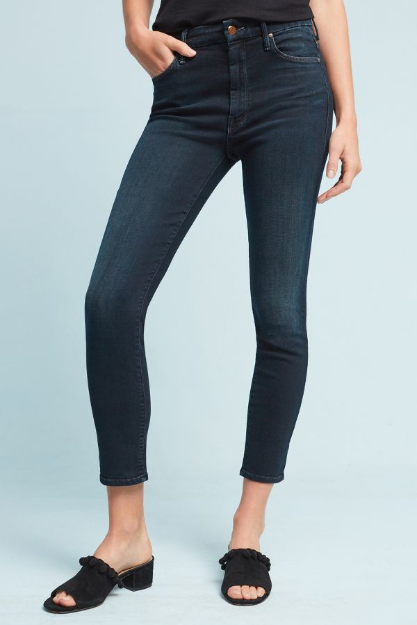 Mother Mother Looker High-Rise Skinny Petite Jeans