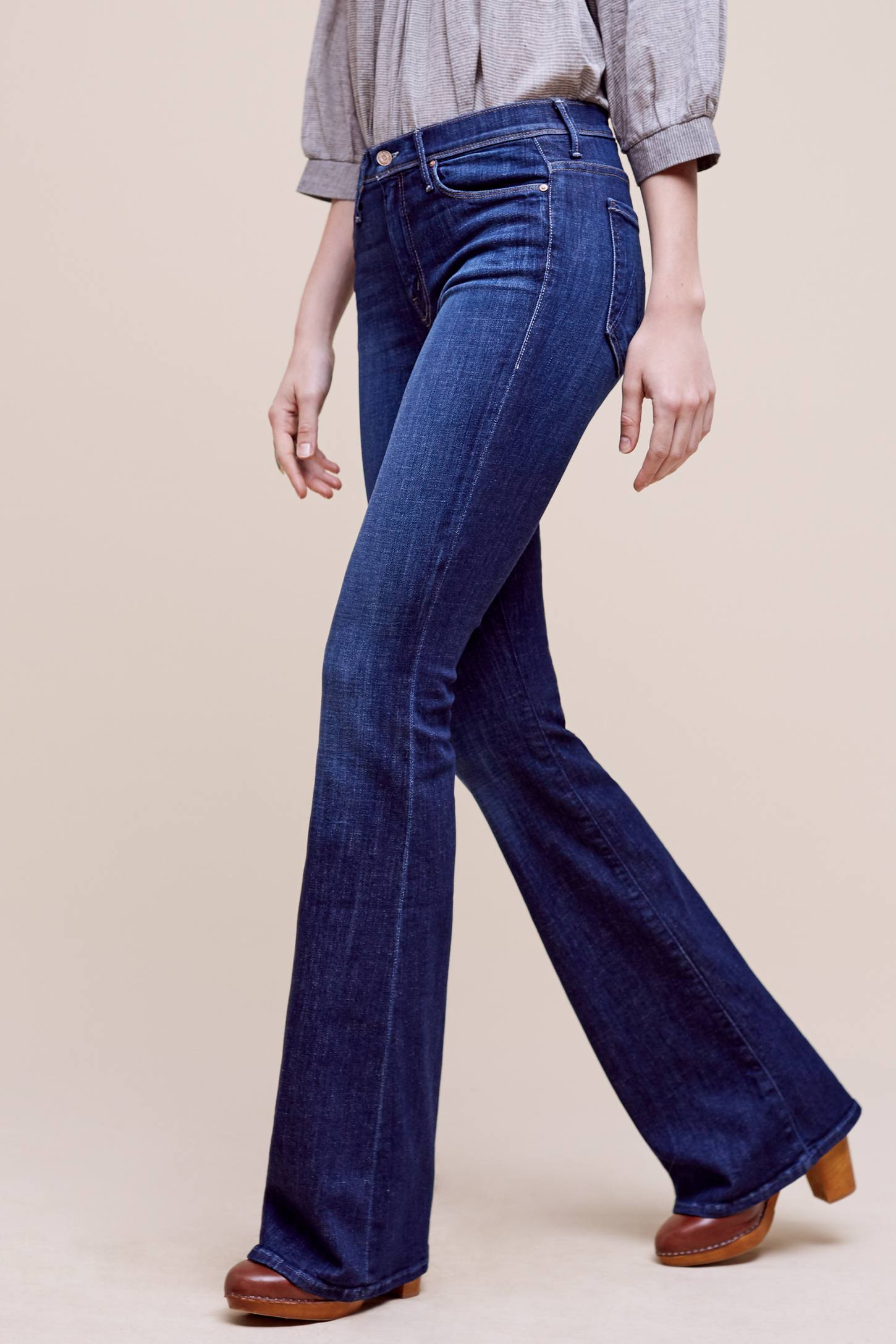 Mother Cruiser High Rise Flare Jeans Anthropologie